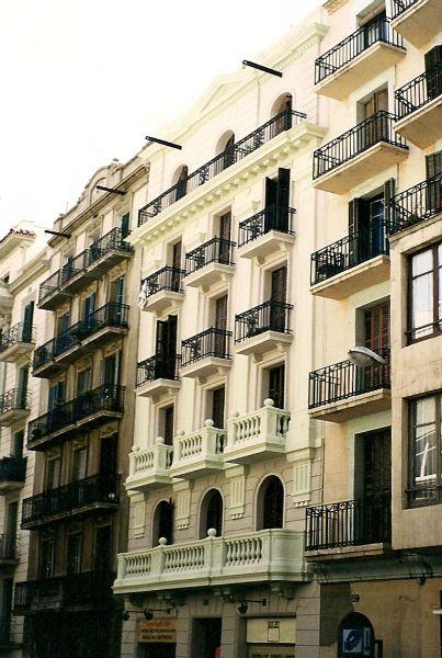 fachadas y exteriores Barcelona