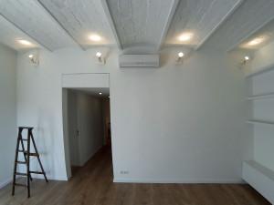 Interior salon reformado